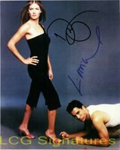 Click for larger image of Signed Will & Grace (Debra Messing / Eric McCormack) 8x10 Photo By Debra Messing and Eric McCormack autographed