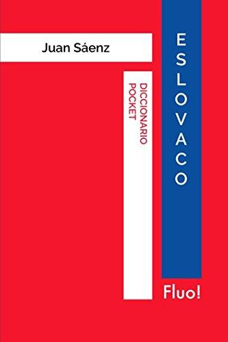 Diccionario Pocket Eslovaco por Juan Sáenz