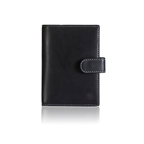 Jekyll and Hide Texas Funda de pasaporte, 15 cm, Negro (Black)