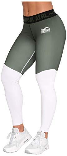 Damen Athletic-hose (Phantom Athletics Damen Leggings Eclipse Sport-Hose für Frauen Yoga Jogging Fitness Laufen Sport-Leggins Grün Gr. M)