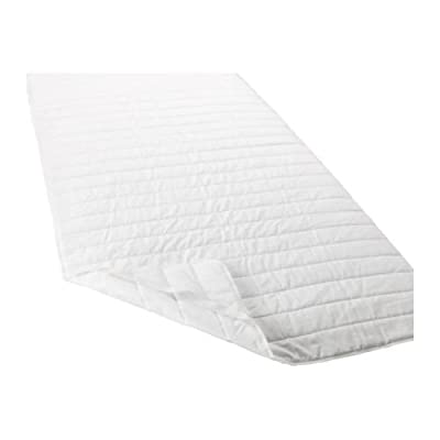 IKEA ANGSVIDE Double Mattress Protector, White