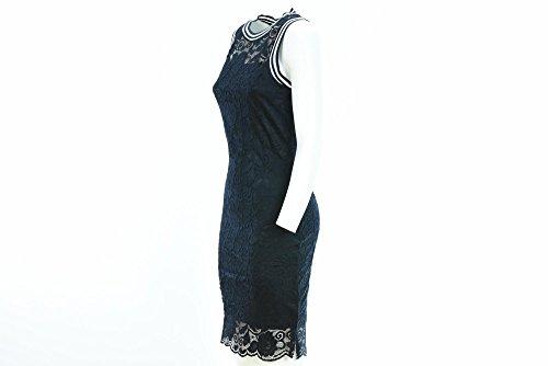 ONLY femme robe en dentelle bleu 15134946 Blu