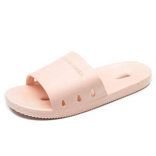 Ciabatte Pantofole da bagno antiscivolo da donna Pantofole da sandalo traforato Pantofole anti-sporco ad asciugatura rapida 2 pz b