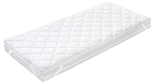 Belsonno® Microfaser Matratzen-Schoner Matratzenauflage 140x200 cm   Premium Unterbett - Matratzen Auflage EXTRA WEICH   Auch für Boxspringbetten geeignet   Schutz für Ihre Matratze