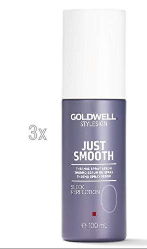 Goldwell StyleSign Sleek Perfection Thermo Spray Serum SET 3x 100ml
