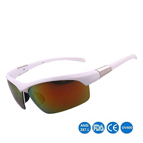 Mmsww Skibrillen, Fahrradbrille Outdoor-Brillen Anti-Ultraviolett-Rittelgläser Angeln Bergsteiger Gelegenheitsfuß Sonnenbrille,C