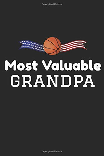 Most Valuable Grandpa: 6x9 Wide Ruled 100 Sheets Journal por Cypress Journals
