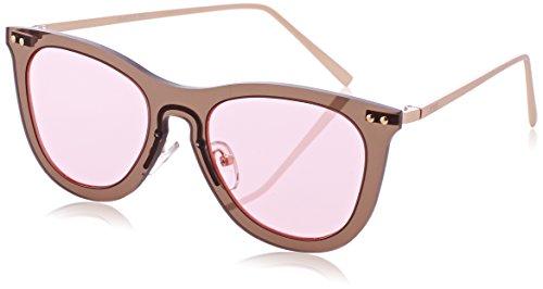 Ocean Eye Montures de lunettes Mixte Adulte, (Marrone Trasparente), 58