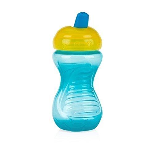 1 Kostenlose Flasche (Nuby einfach 300611. sipeez Freeflow Becher Flasche mit Bite beständig Auslauf Easy Grip BPA Kostenlose Tasse für einfache First Sips ab 6Monaten. SORTIERT)