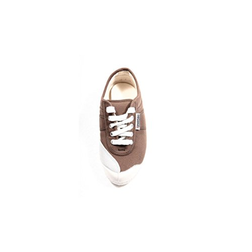 sneaker KAWASAKI scarpa donna shoes women 38375 Marrone
