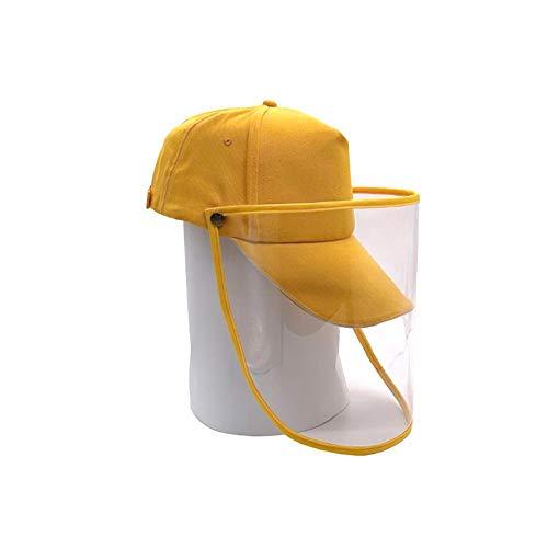 LINKLANK Schutzkappe Baseballkappe Antibeschlag, für Outdoor-Aktivitäten, Baseballkappe, Werbung, mit Abdeckung für Schutz vor Viren, B