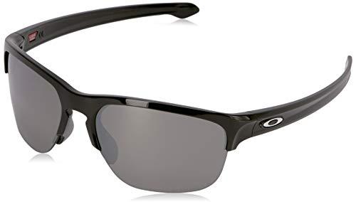 Ray-Ban Herren 0OO9413 Sonnenbrille, Braun (Polished Black), 64