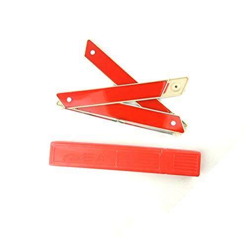 Banbie8409 Auto-Selbstsicherheitsnotfall-reflektierendes Warndreieck-rotes Auto-Warnzeichen-rot-