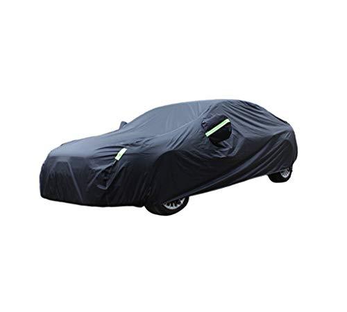 Geeignet für Mini Car-Cover Mini Cooper ONE ONE Plus Cooper S Cabrio Clubman Countryman Sonnenschutz Regenfest Verdickungsisolierung Mini Special Car-Cover (Color : Black, Size : Clubman) (Car Cover Mini Cooper S)