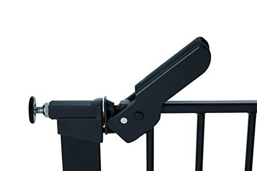BabyDan Premier Türschutzgitter / Treppenschutzgitter zum Einklemmen, Schwarz, 73,5–112,8cm - 4