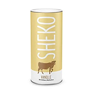 Diätdrink zum Abnehmen Vanille   25 Portionen Molkeprotein Pulver   Ideal als Mahlzeitenersatz oder Proteindrink   Premium Vanille Eiweiß Pulver