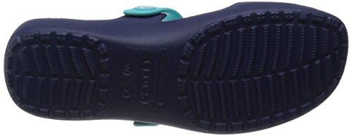 Crocs Coretta W, Sandali Donna Blu (Nautical Navy/Pool)