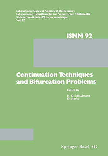 Continuation Techniques and Bifurcation Problems (International Series of Numerical Mathematics)