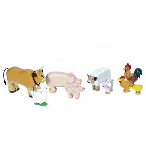le-toy-van-41890-set-de-animales-de-granja-de-madera