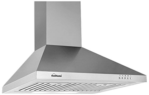 Sunflame 60 Cm 850 M3/h Chimney (ch Fusion 60 Ss Bf,stainless Steel)