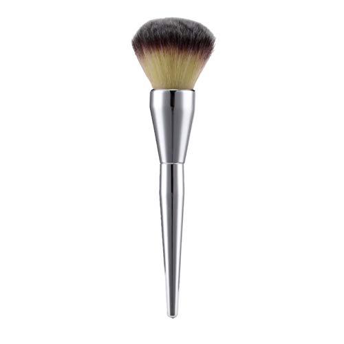 Make-up Pinsel Flat Top Kabuki für das Gesicht, zum Mischen von flüssigen, cremefarbenen oder makellosen Puder-Kosmetika, Polieren, Concealer - Hochwertige synthetische dichte Borsten,01