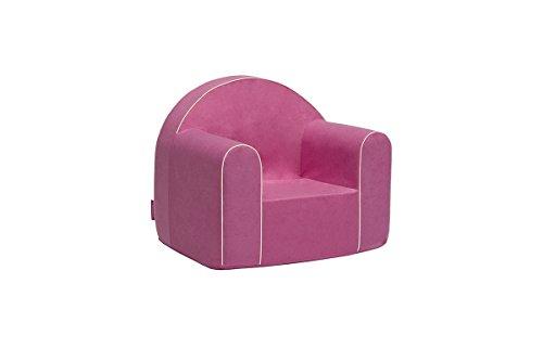 Mini Kindersessel Kinder Babysessel Baby Sessel Sofa Kinderstuhl Stuhl Schaumstoff Umweltfreundlich (Hellpink)
