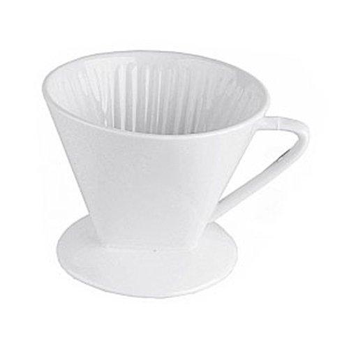 Porzellan Kaffee Filter 1x4 1 Loch Kaffeeefilter Permanent -