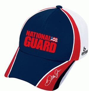 Dale Earnhardt Jr #88 National Guard Red & White Chase Authentics Pit Hat Cap by Chase Authentics Dale Earnhardt Jr Cap