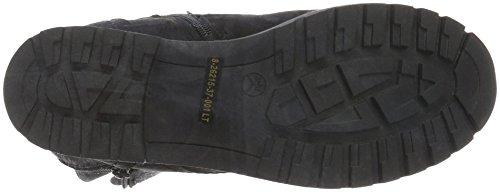 Jana 26217, chaussures de combats Femme Noir (Black 001)