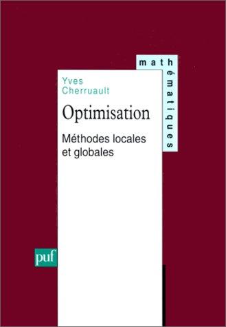 Optimisation : Méthodes locales et globales