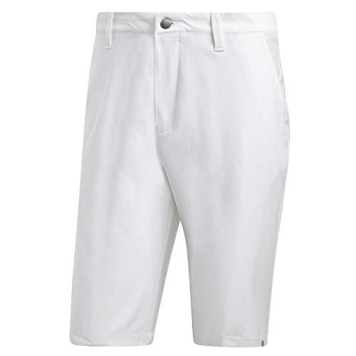 adidas ultimate365Stretch Twill White Short Golf, Herren L weiß - Adidas-stretch-shorts