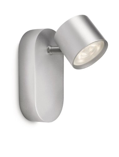 Philips Star Foco, 4 W, Gris, 1 Puntos de luz Aluminio