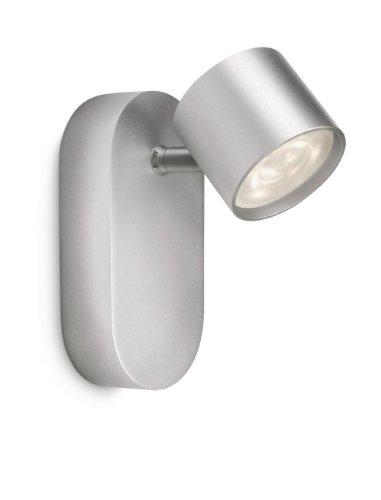 Philips myLiving LED Wandspot Star aluminium