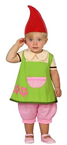 Baby Gartenzwerg Kostüm - Fancy Me Baby Mädchen Gartenzwerg Weihnachten