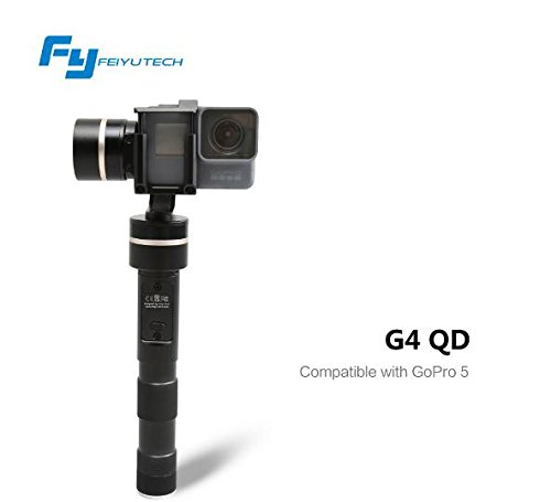 Preisvergleich Produktbild CS PRIORITY Original Feiyu Update Version for Gopro 5 camera / FY-G4 QD Handheld Gimbal G4QD SJ Xiaomi yi Action Cameras