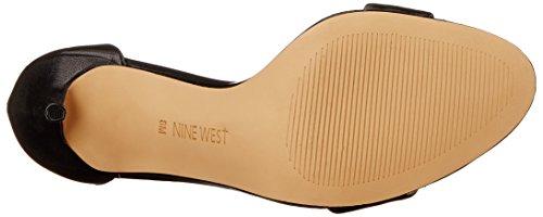 Nine West Mana cuir Sandales à talons Black