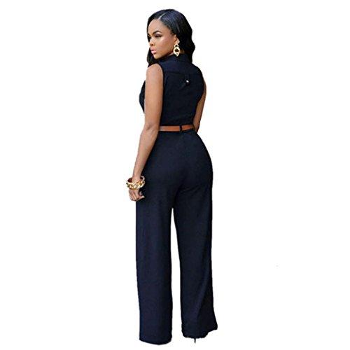Jumpsuit Femme Kolylong 2016 Haute Tunique Jumpsuit Femme Sans Bretelles éTé Soiree Combinaison Femme Chic Sexy Col V Grande Taille Pantalon Playsuit Romper Noir