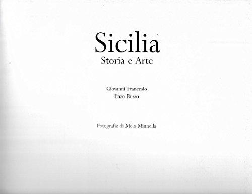 sicilia storia arte  by  francesio giovanni russo enzo minnella melo