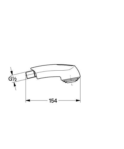 GROHE | Zubehör - Spülbrause | für Zedra/Europlus, chrom | 46312IE0
