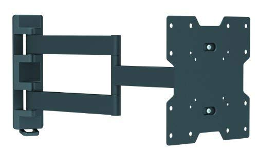 Intecbrackets® - Longest 610mm reach ultra slim fitting strong cantilever tilt and swivel TV wall mount bracket fits 26 27 29 30 32 34 36 37 39 40 complete with a lifetime warranty