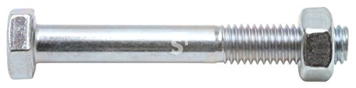 Schössmetall Sechskantschrauben Maschinenschrauben DIN 601 M12 x 160 mm Stahl verzinkt Güte 4.6 SW19 10 Stück