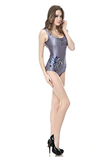 Thenice -  Costume intero  - Donna Grigio
