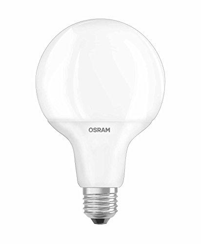 OSRAM LED Star Classic Globe / LED-Lampe in Ballform mit E27-Sockel / Nicht Dimmbar / Ersetzt 60 Watt / Matt / Warmweiß - 2700 Kelvin / 1er-Pack - Star Globe