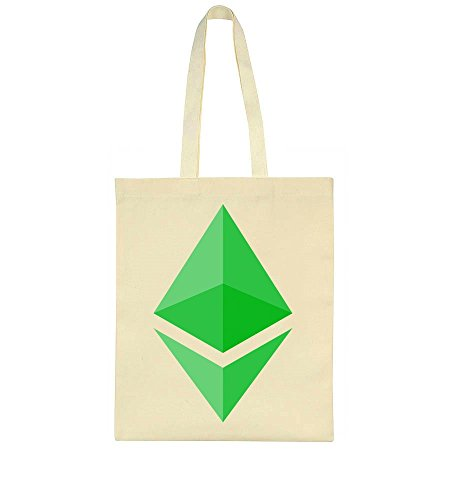 idcommerce ETH Green Logo Tote Bag