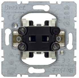 Hager–Meccanismo interruttore bipolare basculante 10A 250V