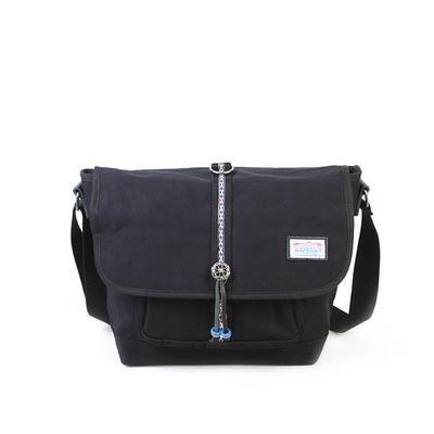 &ZHOU femminile borsa di tela borsa a tracolla grande capacità zaino Messenger Messenger bag di svago di modo 39 * 16 * 29 centimetri , yellow Black