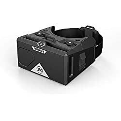 MERGE AR / VR Goggles (Edición EU) - Auriculares virtuales y de realidad aumentada para Android y iPhone - Galardonado, botones de entrada doble, lentes ajustables, espuma duradera, niños mayores de 10 años (Luna gris) ...