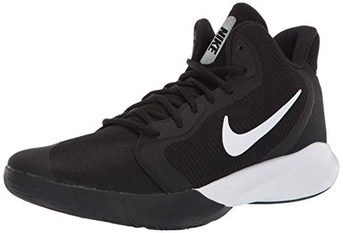 Nike Herren Precision Iii Basketballschuhe, Schwarz (Black/White 000), 45 EU(10UK)