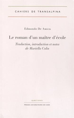 Le roman d'un maître d'école par Edmondo De Amicis