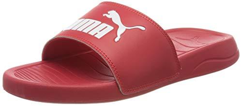 PUMA Popcat 20 Jr, Zapatos de Playa y Piscina Unisex Niños, Rojo High Risk Red White 04, 35.5 EU